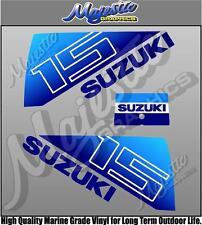 SUZUKI - 15hp - OUTBOARD DECALS