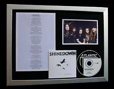 SHINEDOWN If You Only Knew LTD QUALITY CD FRAMED DISPLAY+EXPRESS GLOBAL SHIPPING