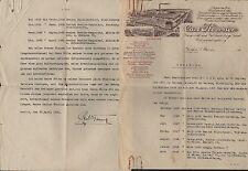 BERLIN SW 68, Brief 1931, Baugeschäft und Holzbearbeitungs-Fabrik Carl Koerner
