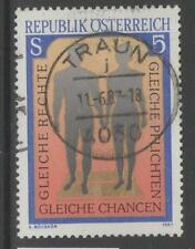 AUSTRIA SG2124 1987 EQUAL RIGHTS FINE USED