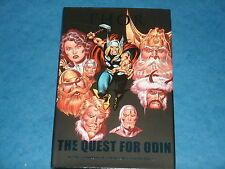 THOR: THE QUEST FOR ODIN (HB Marvel Graphic Novel) Loki,Warriors Three,Lady Sif