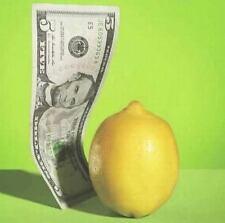 Un billet disparaît dans un citron, EFFARANT !+2 Tours