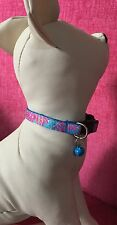 Lilly Pulitzer Inspired Cat Collar In Let's Cha Cha Print