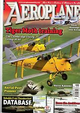 Aeroplane Monthly 2013 August Tiger Moth,F-105 Thunderchief,RAAF P-51