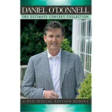 DANIEL O'DONNELL ULTIMATE CONCERT COLLECTION 4 DVD ALL REGIONS NEW