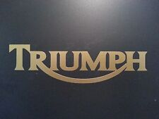 TRIUMPH  DECAL  * BSA * BIKE * MOTORCYCLE * NORTON * BMW * INDIAN * HARLEY