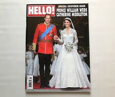 Hello! UK Catherine Middleton & Prince William Special Souvenir Issue 2011 New