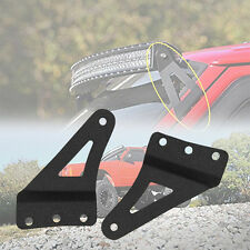 For 1984-2001 Jeep XJ Cherokee 50IN curved LED light bar roof mounting brackets