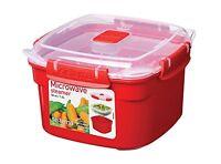 Sistema Microwave Cookware Steamer , Small, 47.3 Ounce/ 5.9 Cup, Random Colors