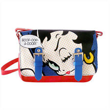 NEW BETTY BOOP POP MINI SATCHEL FLIGHT BAG GIFT RETRO VINTAGE CARTOON HANDBAG