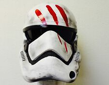 Star Wars Prop Ep 7 Force Awaken Battle Damage Stormtrooper armor helmet adult