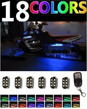 6pc Universal Performance Polaris Snowmobile LED Neon Accent Light Pod Kit