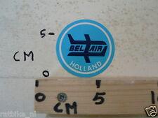 STICKER,DECAL BEL AIR HOLLAND PLANE A BLUE