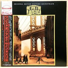 OST ONCE UPON A TIME IN AMERICA LP w/Insert ENNIO MORRICONE Orig JAPAN ISSUE