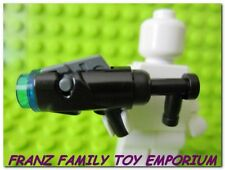New LEGO Minifig Blaster GUN Extended Trigger Dark Blue Cap Weapon REALLY SHOOTS