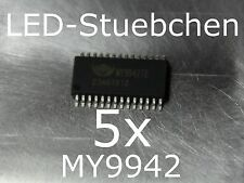 5x MY9942 LED-Treiber IC (RGBW, KSQ, incl. DMX, High-Power LED)