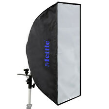METTLE Striplight Schirm-Softbox 25x60cm für Metz Systemblitz Kamerablitz Blitz