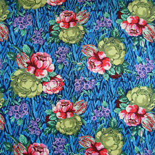 Amy Butler TAPESTRY ROSE Sapphire Ab117 Cotton Quilt Fabric HAPI Collection YD