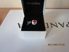 Auth PANDORA Sterling Silver Ltd Edition Canada Maple Leaf Charm 790523ERW