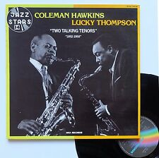 "Vinyle 33T Coleman Hawkins / Lucky Thompson  ""Two talking tenors - 1952-1958"""