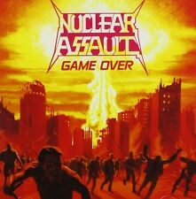 "NUCLEAR ASSAULT ""GAME OVER""  CD THRASH METAL NEW+"