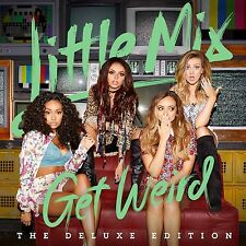 LITTLE MIX - GET WEIRD  CD +4 BONUSTRACKS NEU