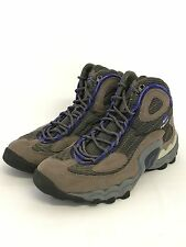 Nike Air ACG Hiking Boots Brown Blue Shoes Size 7.5