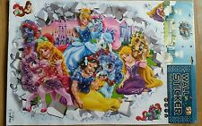 5D Disney Princesa Grandes Vinilo Autoadhesivo pop-up Pegatinas de pared Calcomanías
