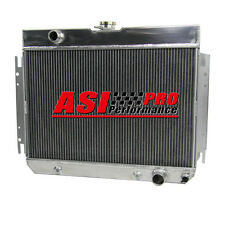 FOR 1963-1968 IMPALA CHEVELLE MANY CHEVY GM CARS 3 CORE ALUMINUM RACING RADIATOR