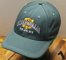 THE SILVER DOLLAR BAR MISSOULA MONTANA HAT GREEN ADJUSTABLE EXCELLENT CONDITION