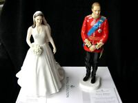 ROYAL DOULTON CATHERINE KATE & PRINCE WILLIAM ROYAL WEDDING DAY LIMITED EDITION