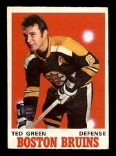 1970-71 O-Pee-Chee #134 Ted Green  VG/VGEX F1196292