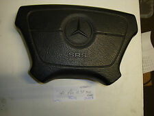 Mercedes-Benz W140 300SE 300SEL driver steering airbag black 140 460 12 98