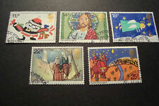 GB 1981 Commemorative Stamps~Christmas~Very Fine Used Set~(ex fdc)UK Seller