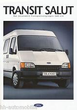 Ford Transit Salut Prospekt 7/92 brochure 1992 Auto PKWs Deutschland Broschüre