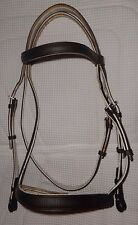 RARE STUBBEN Special Edition Bridle- Comfort Crown -PADDED Everywhere - Raised