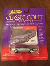 Johnny Lightning Classic Gold 1971 Dodge Challenger Diecast 1:64 MISP