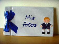 Usado - ALBUM FOTOGRAFÍAS comunión niño - Used in shop