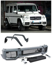 For 02-Up W463 G-Class G63 AMG Style NS Front Bumper Cover Front Fender Flares