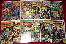 CAPTAIN VICTORY & THE GALACTIC RANGERS #1-4,6-12 + Special #1 Jack Kirby! 1981