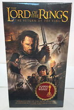 "Lord of The Rings ""RETURN of The KING"" FACTORY SEALED VHS Video"
