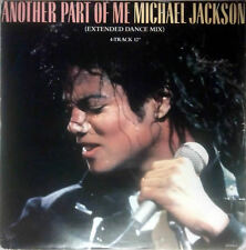 "MICHAEL JACKSON -  ANOTHER PART OF ME (EXTENDED DANCE MIX) 4-TRACK 12"" VINYL"