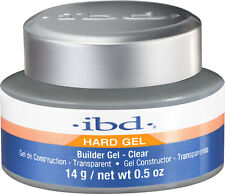 ibd UV Clear Builder Gel  - 14 g / .5 fl oz - Hard Gel 604000