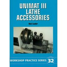 UNIMAT LATHE ACCESSORIES BOOK WPS 32 MODEL ENGINEER