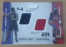 2001-02 Hoops Hot Prospects Hot Tandems #43 Chris Webber/Darius Miles /100