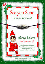 Wishing Bracelet Elf Santa Christmas Gift Believe Stocking For On The Shelf