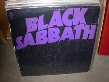 BLACK SABBATH master of reality ( rock ) green label & masters - VERY RARE -