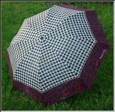 Fabulous Vintage CHRISTIAN DIOR Hounds Tooth Parapluies Umbrella
