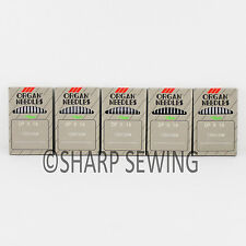 50 ORGAN 135X17 #21 WEDGE LEATHER POINT NEEDLES 135X16 DPX16 3371