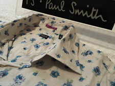 """PAUL SMITH Mens Shirt �� Size 16.5"""" (CHEST 42"""") ��RRP £95+��FLORAL LIBERTY STYLE"""